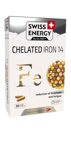 CHELATED IRON 14 Iron (as Ferrous bisglycinate) 14 mg