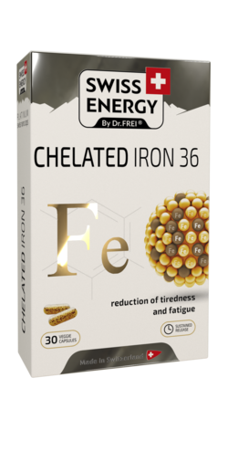 CHELATED IRON 36 Iron (as Ferrous bisglycinate) 36 mg