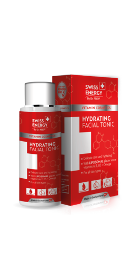 HYDRATING FACIAL TONIС Liposomal glacier water + Edelweiss extract + Vitamins A, E, B5 + Omega 3,6
